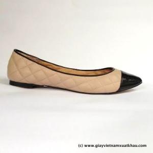 1 1 300x300 Giày bệt nữ STRADIVARIVARIUS màu nude đen GB66.DE.37