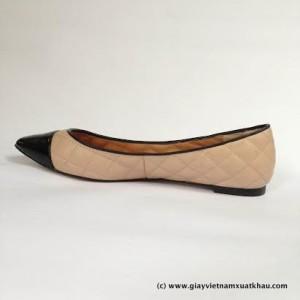 1 3 300x300 Giày bệt nữ STRADIVARIVARIUS màu nude đen GB66.DE.37