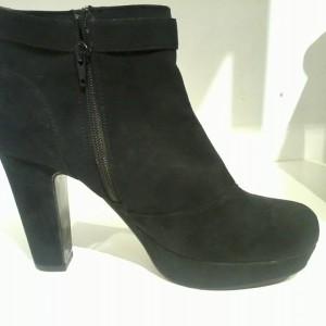 Boot bệt nữ BELLISSIMA cổ thấp màu đen BB36