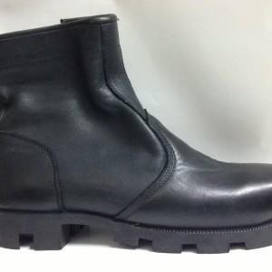Boot nam VNXK cao cổ gót thấp màu đen BB115.DE.39