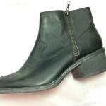 Boot nữ VNXK DIVAS cổ thấp gót thấp màu đen BB034.DE.37