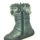Boot trẻ em VNXK ZARA GIRL bệt cao cổ màu nâu TE068.NA.25