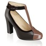 Giày cao gót nữ VNXK Cate Gray màu đen G77