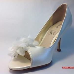 Giày cao gót VNXK ERAM SIZEE màu trắng G59