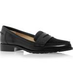 Giày nam VNXK NEXT lười màu đen GT037.NA.38