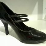 Giày nữ DOUBLURE ET SEMELLE CUIR cao gót màu đen G01