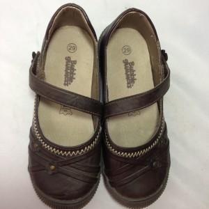 Giày trẻ em VNXK BUBBLEGUMMERS bệt màu đen TE044.DE.29
