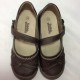 Giày trẻ em VNXK TOMMY bệt màu nâu TE043.NA.35