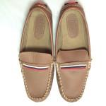 Giày trẻ em VNXK TOMMY bệt màu nâu TE042.NA.37