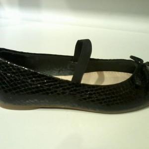 Giày trẻ em ZARA GIRL đế thấp màu đen TE53