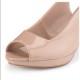 Peep Toe Stiletto Heel Wide Fit Slingback Shoes123