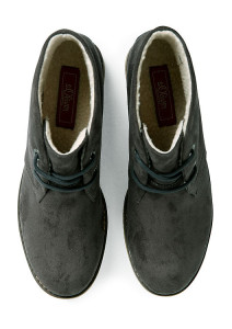 derby schuhe im wildleder look grau schwarz 101.609.101.26111.212 back 212x300 Ankle bốt lót lông da lộn Việt Nam Xuất Khâu BB718.XA.37
