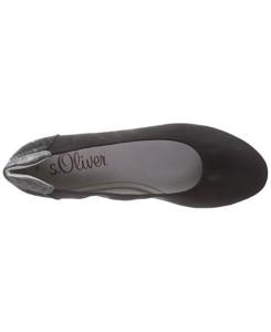 shop s oliver women s 22119 ballet flats black schwarz black comb 098 7638 28405 500x612 0 245x300 Giày bệt BALLET S.oliver Việt Nam Xuất Khẩu GB703.ĐE.39